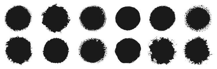 Fototapeta circular grunge vector collection obraz