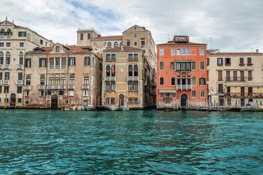 Venedig Italien Häuser im Wasser 2021