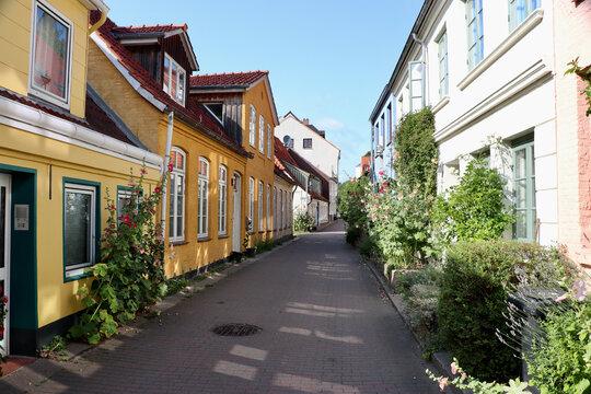 historische Gebäude in Flensburg