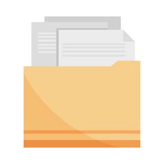 Fototapeta folder with documents obraz
