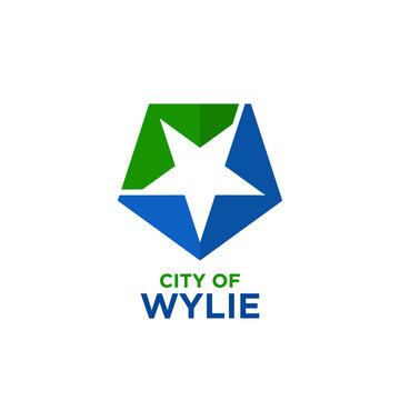 City of Wylie, Texas Logo Design. Vector Illustration.