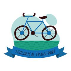 Obraz ecological transport lettering - fototapety do salonu