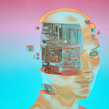 Working memory modern digital data portrait