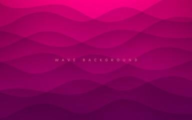 Abstracte Donker Roze Paars Lagen Golvende Vorm Textuur Achtergrond