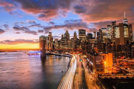 new york, concrete jungle where dreams are made of
