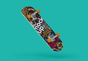 Fototapeta Skateboard Mockup obraz