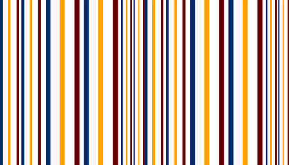 fabric Retro Color style seamless stripes vector pattern