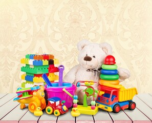Fototapeta Toy. obraz