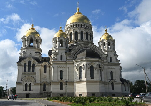 A view shows the Voznesenskiy (Ascension) Cathedral in Novocherkassk