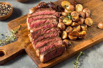 Homemade New York Strip Steak