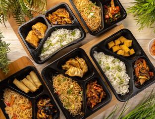 Japanese takeaway food