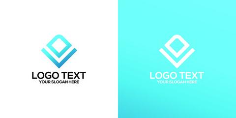 Obraz initial letter l,d logo - fototapety do salonu