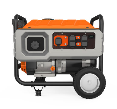 Gasoline Generator Isolated