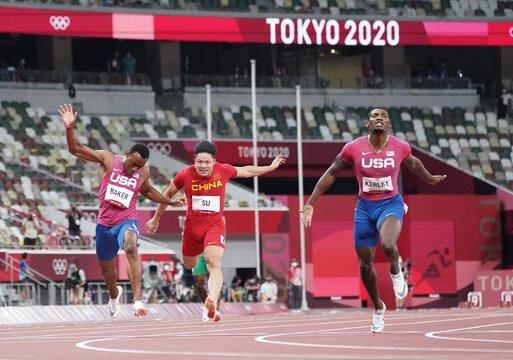 Athletics - Men's 100m - Final