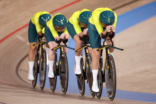 Cycling - Track - Women's Team Pursuit - Qualification