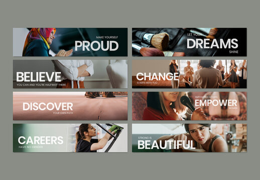 Women Empowerment Career Layout Design