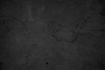 Obraz Art black concrete stone texture for background in black. Abstract color dry scratched surface wall grey dark detail covering. - fototapety do salonu