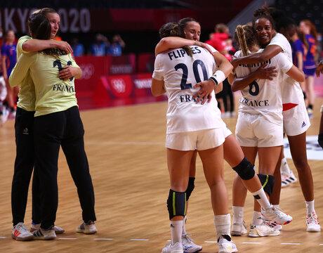 Handball - Women - Quarterfinal - France v Netherlands