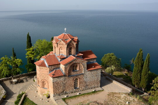 Church of Saint John the Theologian at Kaneo. Ohrid. North Macedonia