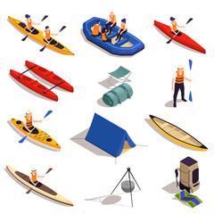 Rafting Kayaking Canoeing Set