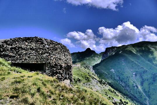 fortifications en haute roya