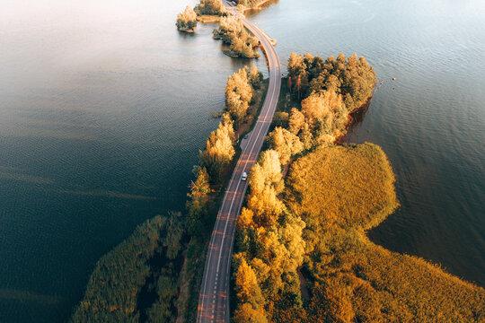 Driving trough the Archipelago