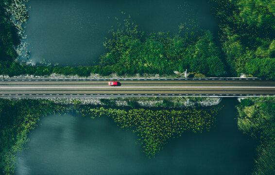Drive trough Scandinavia
