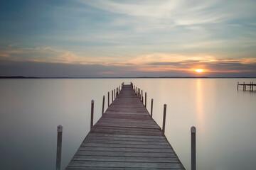 Lake Mendota sunset Madison Wisconsin