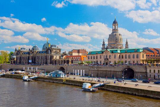 Altstadt von Dresden, Deutschland