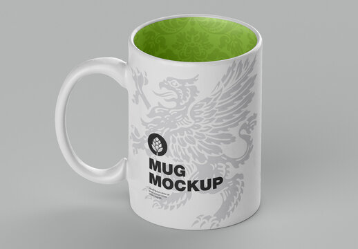 Colorfull Matte Mug Mockup