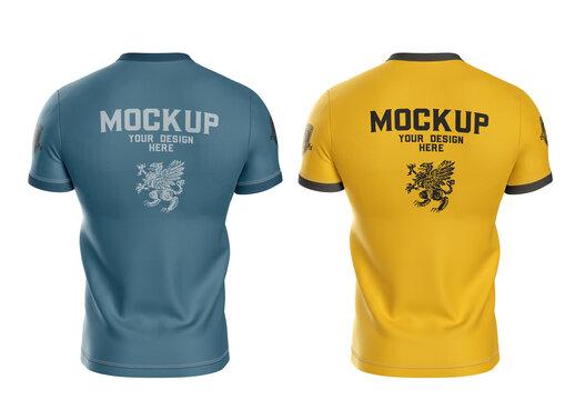 Men'S Sports T-Shirt Mockup