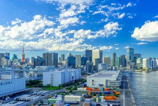 東京風景 2021年夏 芝浦埠頭と汐留・浜松町
