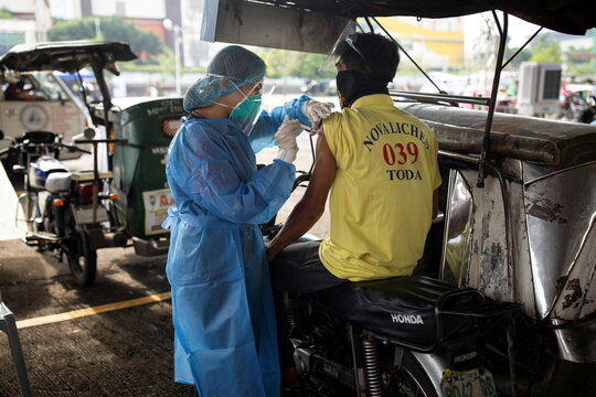 COVID-19 vaccination for public transport and service workers