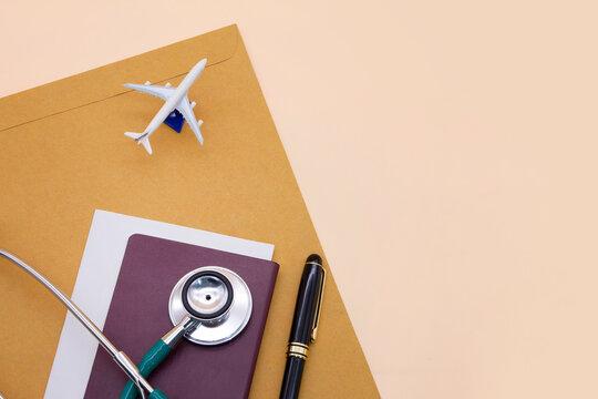 International travel health insurance, medical cost coverage for world traveler,vaccine immunity certificate and passport