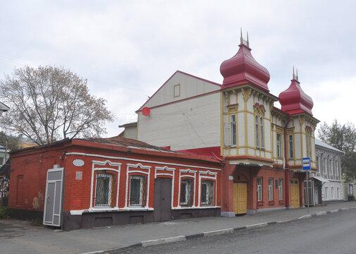 House of tradeswoman Maria Rafailova on Galaktionovskaya street. Built at the end of the 19th century. Samara, Russia