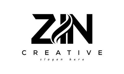 Fototapeta Letter ZIO creative logo design vector obraz