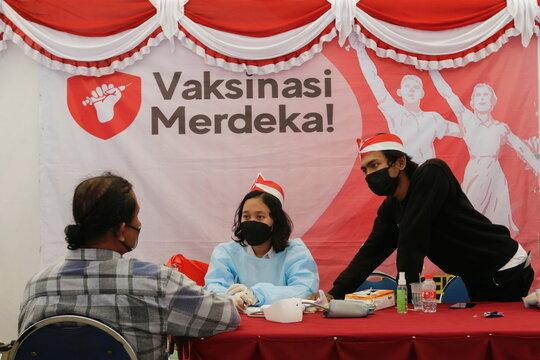 COVID-19 vaccination program in Jakarta