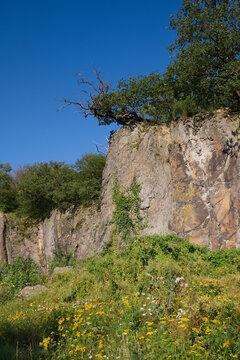 Stenzelberg, im Siebengebirge. Steinbruch für umliegende Gebäude. Nr.1