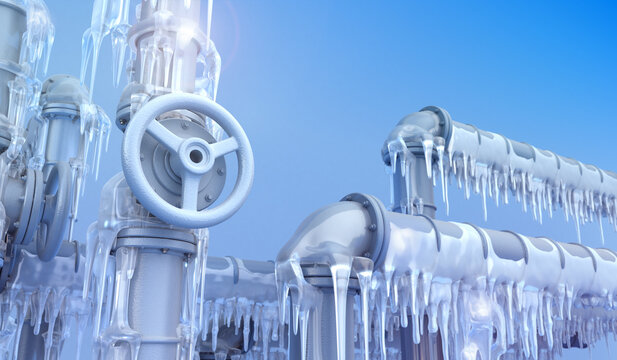 Pipeline and Icicles