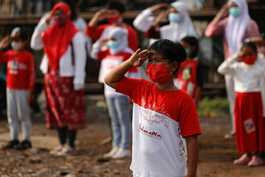 Indonesia's 76th Independence Day celebrations in Jakarta