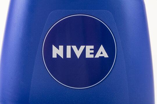 NIVEA LOGO on SHOWER CREAM
