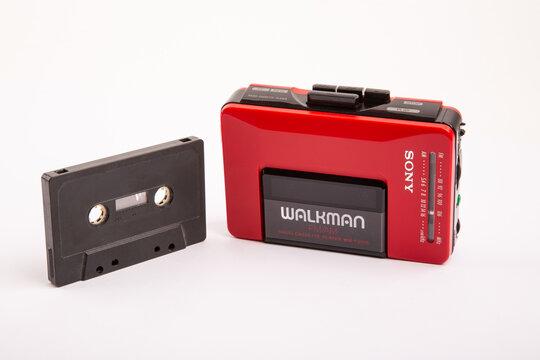 SONY WALKMAN WM-24 with Audi Cassette