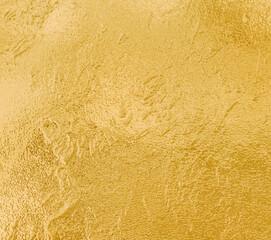 Obraz Gold texture surface shiny metalic background - fototapety do salonu