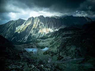 Fototapeta Tetry - Dolina Żabia Mięguszowiecka obraz