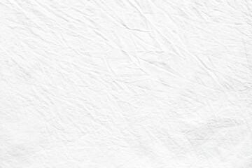White cotton fabric macro texture