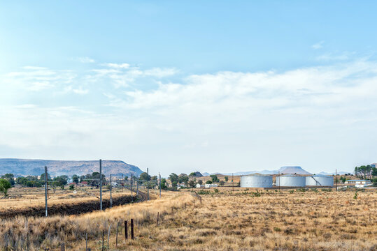 Rosmead railway station near Middelburg in the Eastern Cape Province