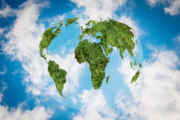 Ekologia- symboliczne przedstawienie. Ekologiczny styl życia