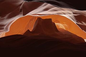 Beautiful shot of the Antelope Canyon