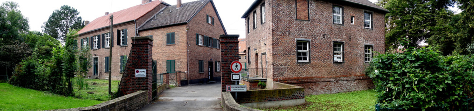 Dikopshof,  Denkmal-geschützes Hofgut , Wesseling-Keldenich, Nordrhein-Westfalen, Deutschland