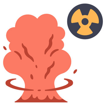 nuclear weapon experiment icon